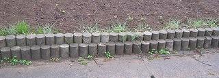 2段のブロックの仕切り